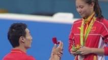 Olimpiadi, la proposta di matrimonio dopo la medaglia