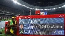 Usain Bolt è leggenda, 3° oro olimpico nel 100 metri