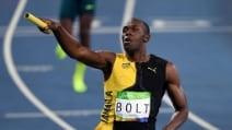 Bolt, tripletta d'oro a Rio: vince anche nella 4x100