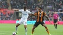 Hull City rivelazione, in 13 vincono anche con lo Swansea