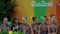 Le lacrime delle 'farfalle': l'Italia della ritmica perde il bronzo per 2 decimi