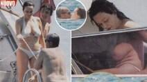 L'estate hot di Francesca Neri e Claudio Amendola