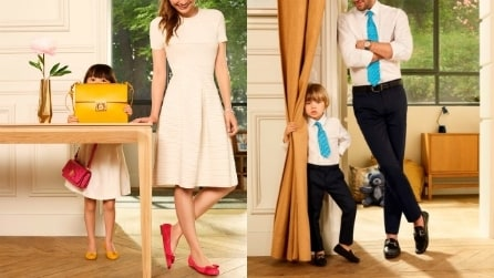 """Mini"": la capsule collection Ferragamo per creare look abbinati mamma-figlia"