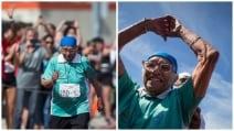 """L'impresa della """"Bolt centenaria"""", corre i 100 metri e vince"""