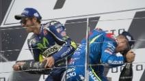 Silverstone, Vinales riporta la Suzuki alla vittoria, 3° Rossi