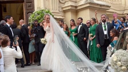 Gli abiti da sposa di Cristel Carrisi