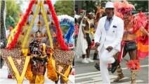 New York, i colori e i costumi della grande parata del Caribbean Carnival