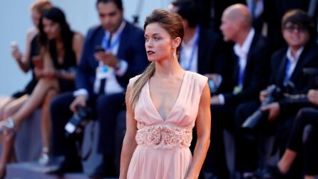 Il look di Alice Bellagamba a Venezia 73