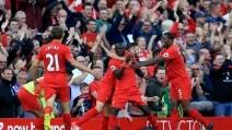 Premier League, Liverpool-Leicester 4-1