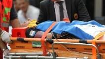 Paura per Antonelli, in ospedale per un trauma cervicale