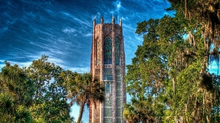 Singing Tower di Bok, un gigantesco carillon immerso nel verde