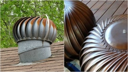 Ricicla le vecchie turbine arrugginite: un'idea che renderà unico il vostro giardino