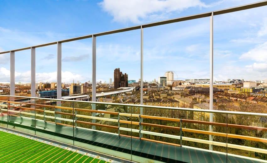 L'edificio è dotato anche di una terrazza con vista sul London Eye e lo skyline della città. Difficile trovare nulla di meglio