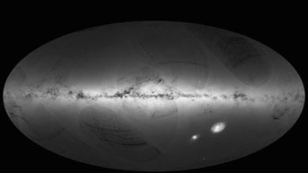 Diffusa la mappa del cielo più accurata di sempre: catalogate più di 1miliardo di stelle