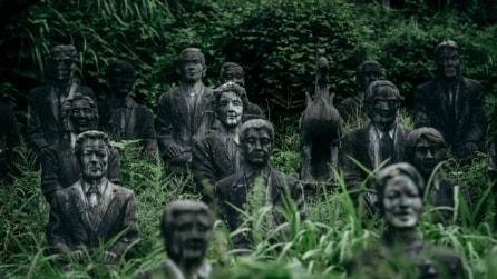All'interno del parco abbandonato più raccapricciante del Giappone