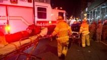 Esplosione a New York, i soccorsi ai feriti