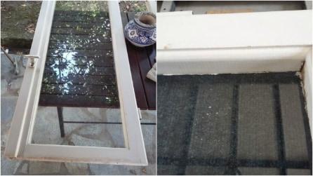 Ricicla una vecchia finestra e la trasforma completamente: il risultato vi stupirà