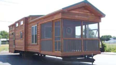 Sembra una comune casa mobile: i suoi interni vi lasceranno a bocca aperta