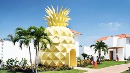 All'interno della villa a forma di ananas ispirata a Spongebob