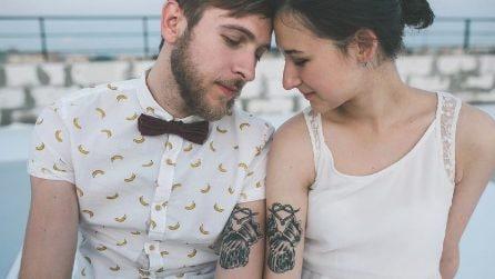 Tatuaggi di coppia: un disegno per due