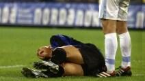 Ronaldo, il grave infortunio al ginocchio destro