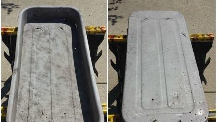 Ricicla un vecchio carretto arrugginito: il risultato è sbalorditivo