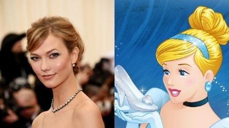 Principesse Disney e modelle a confronto