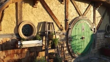 Una strana porta verde: la tana de Lo Hobbit esiste davvero