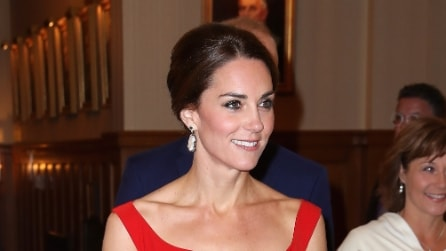 "Il look ""canadese"" di Kate Middleton"