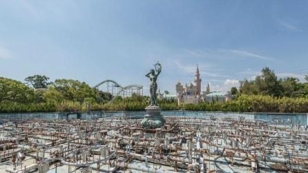 All'interno del parco divertimenti abbandonato più famoso al mondo