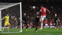Manchester United, Ibrahimovic regala la prima vittoria a Mou in Europa League