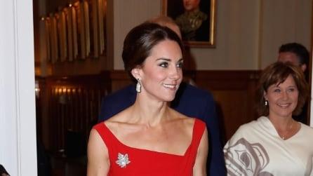 Tutti gli abiti indossati da Kate durante la visita in Canada