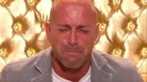 Le lacrime di Stefano Bettarini pentito al GF Vip