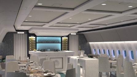 A bordo dell'aereo commerciale più lussuoso del mondo