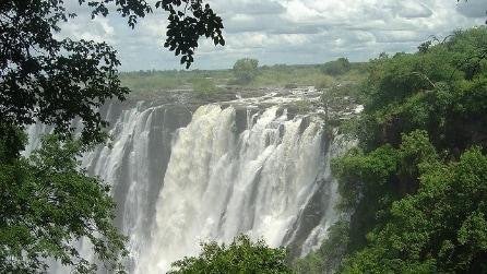Cascate Vittoria, lo spettacolo della natura sul fiume Zambesi