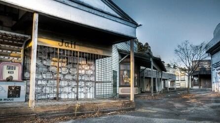 All'interno del villaggio western abbandonato più terrificante del Giappone