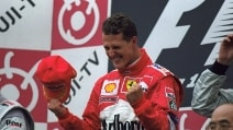 Giappone 2000, Schumacher riporta il titolo piloti in Ferrari