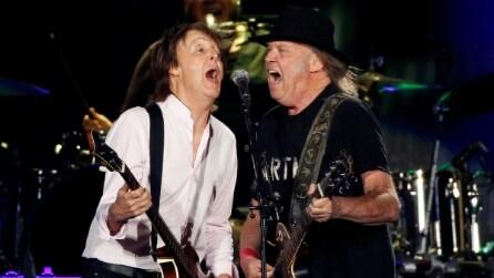 I grandi del rock infiammano il Desert Trip: e i Rolling Stones suonano una canzone nuova