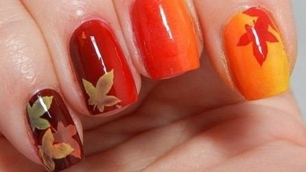 La nail art dell'autunno