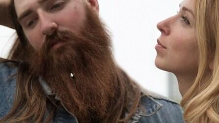 """""""Beard Jewelry"""", i gioielli per la barba da hipster"""