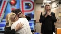 """Mara Venier nella casa del Gf Vip, abbracci per Bosco: """"Sei speciale"""""""