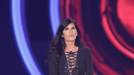 Il look sexy di Pamela Prati, squalificata dal GF Vip