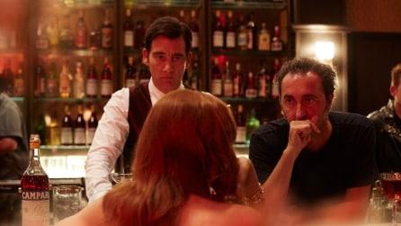 Le foto del corto di 'Killer in Red' di Paolo Sorrentino, con Clive Owen