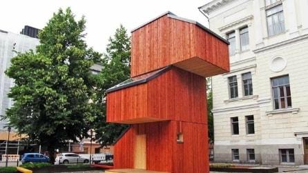 Questa casa si costruisce in meno di 24 ore e gli interni vi stupiranno