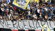 La curva dell'Inter attacca Icardi