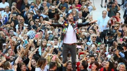 Il look casual di Jovanotti alla Festa del cinema di Roma