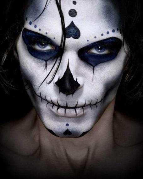 Trucco di Halloween: idee make up per l'uomo