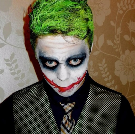 Trucco di Halloween: idee make up per l'uomo