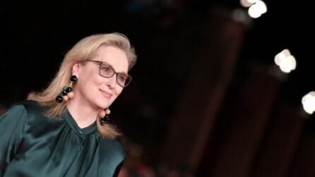 Il look di Meryl Streep alla Festa del Cinema di Roma