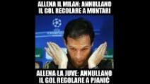 Milan-Juve, gol di Pjanic annullato: la decisione di Rizzoli scatena l'ironia della rete